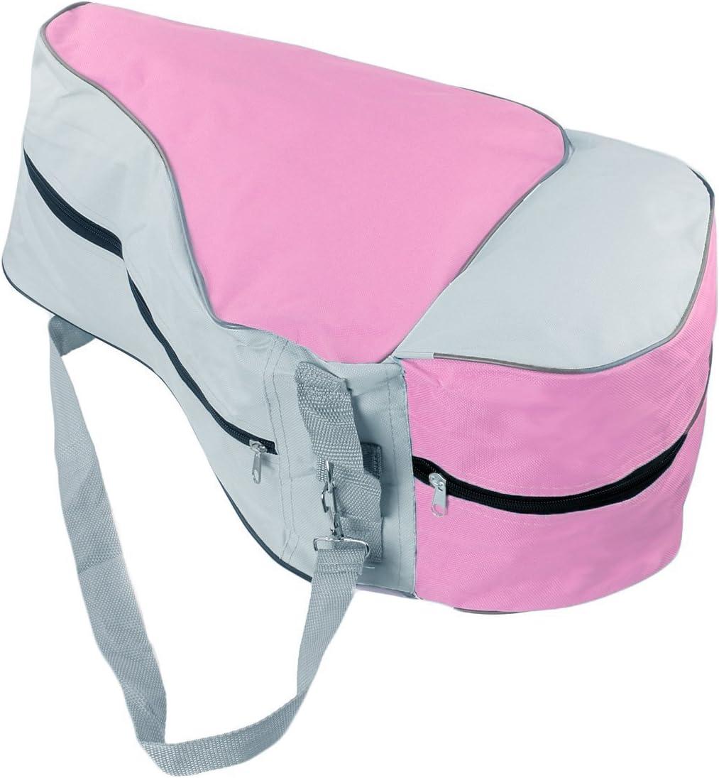 CTK Premium Skate Bag-Waterproof Skate Tote with Adjustable Shoulder Straps,Pink : Sports & Outdoors