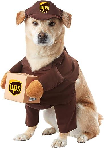 Kostüm für Hunde - UPS Bote