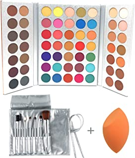 Beauty Glazed 63 Colors Eyeshadow Professional Makeup 63 Colors EyeShadow Palette Powder..