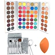 Beauty Glazed 63 Colors Eyeshadow Professional Makeup 63 Colors EyeShadow Palette Powder With...