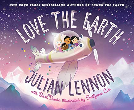 Love the Earth (A Julian Lennon White Feather Flier Adve)