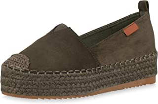 41a8ba7021da88 Amazon.fr : Vert - Espadrilles / Chaussures femme : Chaussures et Sacs