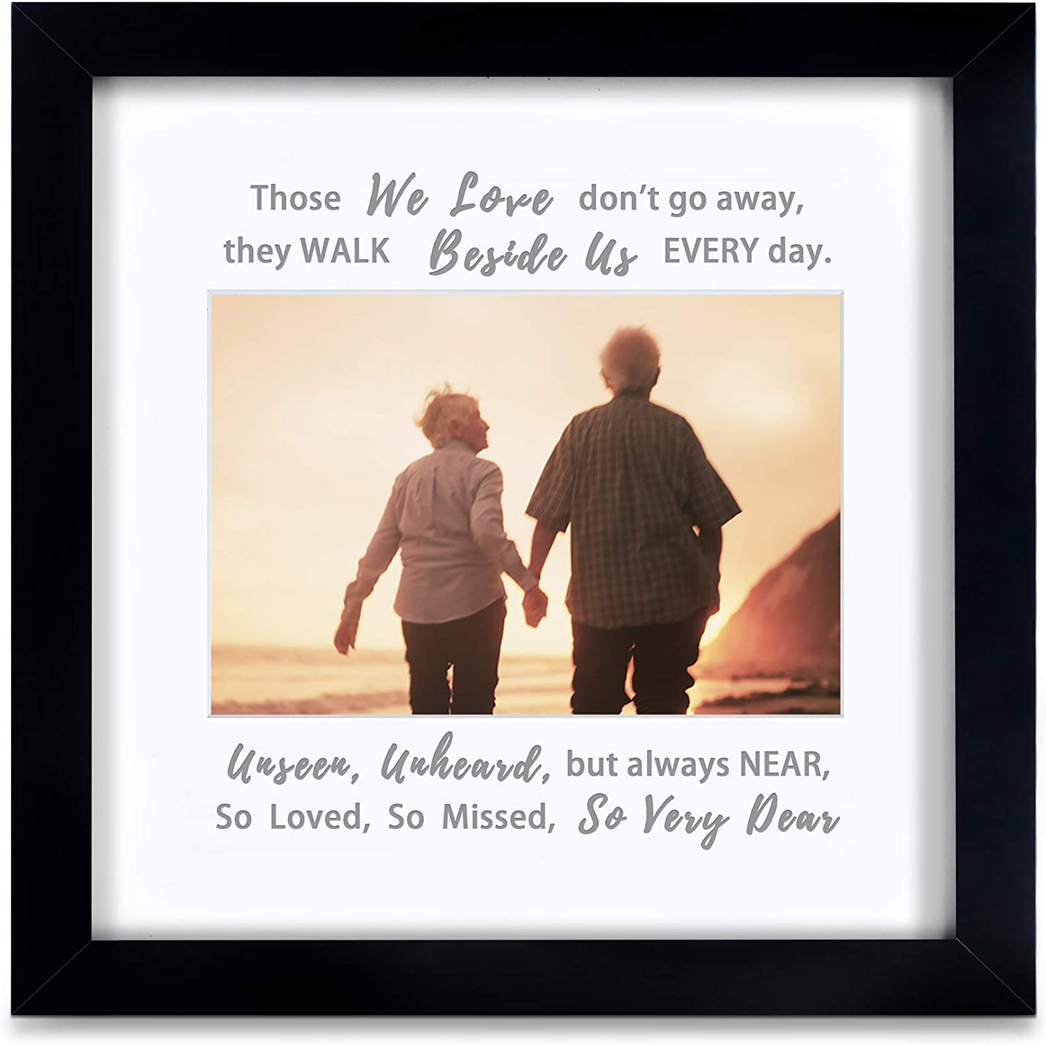 IHEIPYE Memorial Picture Frame - Sympathy Gifts for Loss of Love