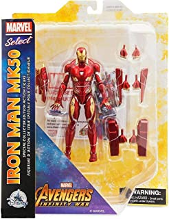 Figures Marvel Select Avengers Infinity War Iron Man MK50 - Special Collector Edition Action