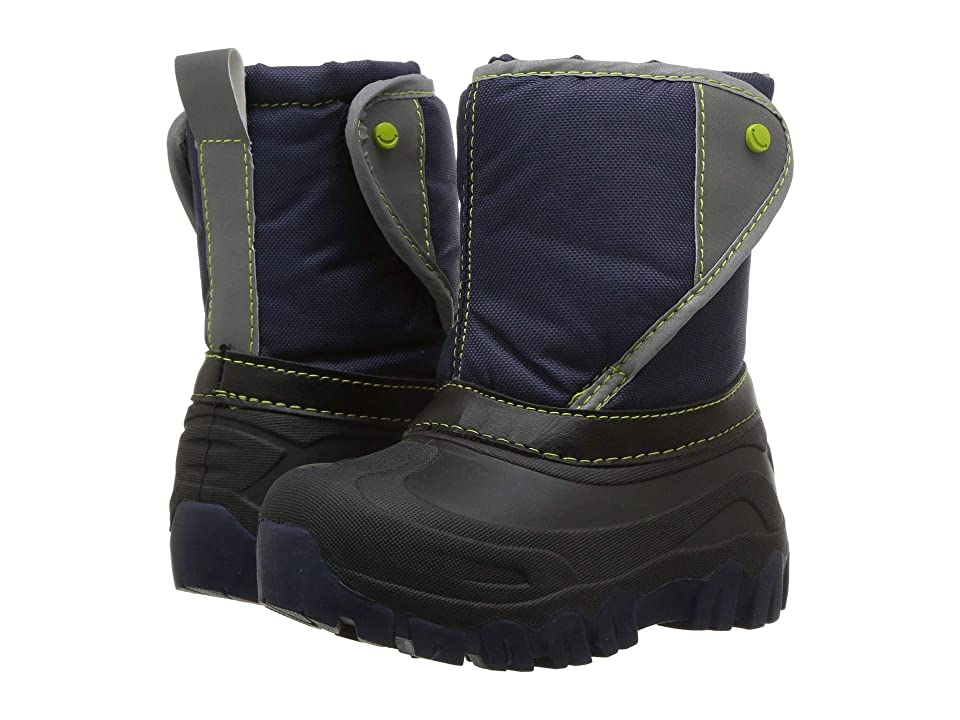 Western Chief Kids Selah Snow Boots (Toddler/Little Kid/Big Kid) (Navy) Boys Shoes