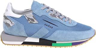 GHOUD Luxury Fashion Mens RMLMMM25 Light Blue Sneakers | Spring Summer 20