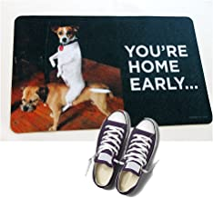 product image for HIGH COTTON Welcome Doormat - You're Home Early