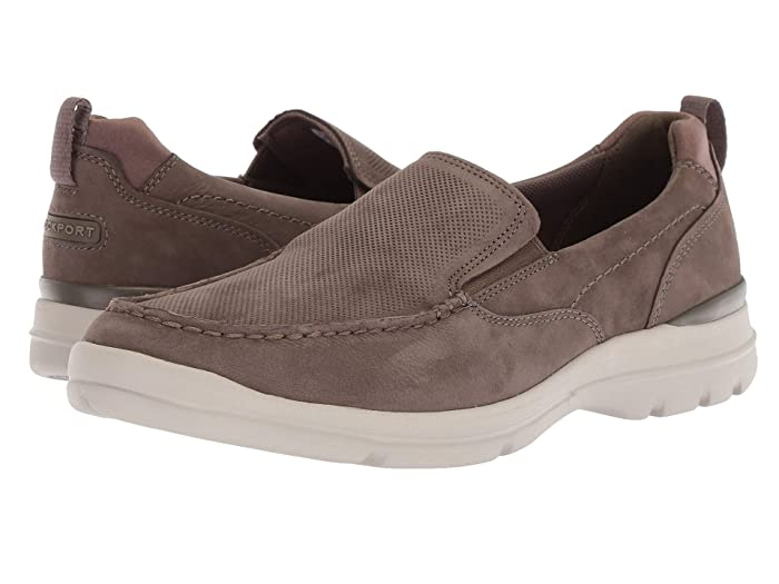 Rockport  City Edge Slip-On (Breen Nubuck) Mens Shoes