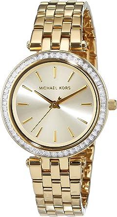 Michael Kors Reloj Analogico para Mujer de Cuarzo con Correa en Acero Inoxidable MK3365