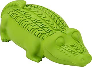 Arm & Hammer Ora-Play Denta-Saurus Gator Dental Chew Toy for Dogs   Best Dog Chew Toy for The Toughest Chewers