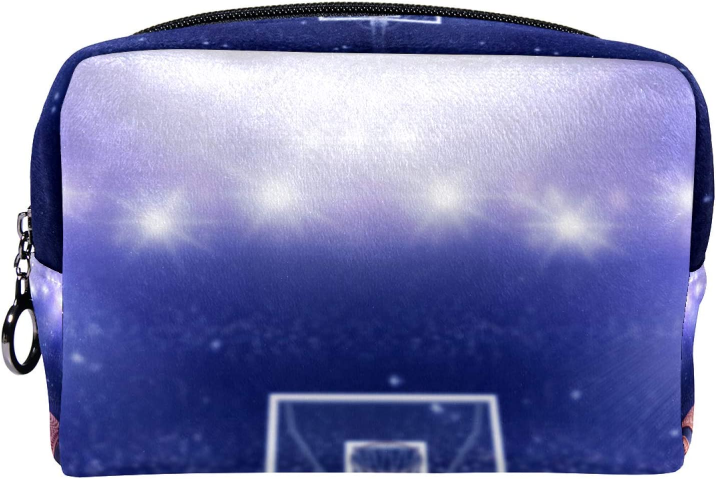 discount Cosmetic Bag for Women Roomy Makeup court Bags game Basketball Max 81% OFF p