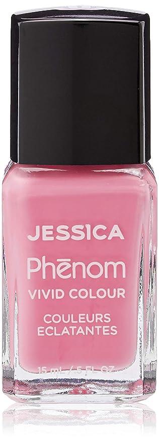 スパーク幾分薄いJessica Phenom Nail Lacquer - Electro Pink - 15ml/0.5oz