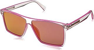 7b940ad1ab01 Marc Jacobs Men's Marc222s Polarized Rectangular Sunglasses CRYSPINK ...