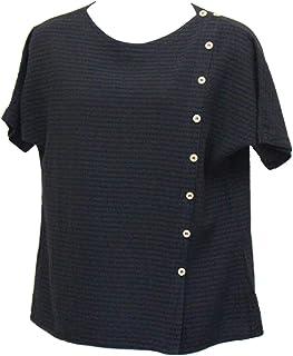 Ezze Wear Women`s Black Mirage Cotton Becca Top