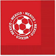 Beistle 58115-MEX 16-Pack Luncheon Napkins, Mexico