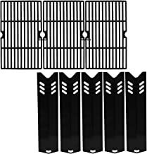 Hisencn Grill Kits for DynaGlo DGF510SBP, DGF510SSP, DGF510SSP-D, Heat Plate and Cooking Grid for Backyard BY13-101-001-13, GBC1460W, GBC1461W, GBC1462W, GBC1059WB, BH13-101-099-01, BH14-101-099-01