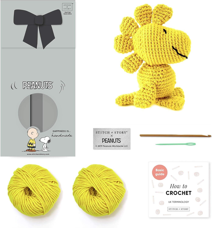 Stitch 70% OFF Outlet Story X Peanuts Woodstock Amigurumi Crochet Beginner Ki 40% OFF Cheap Sale