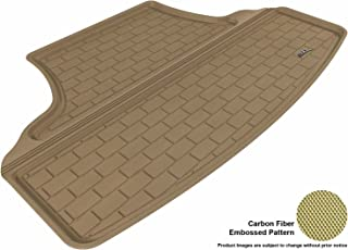 3D MAXpider Cargo Custom Fit All-Weather Floor Mat for Select Infiniti M37 Models - Kagu Rubber (Tan)