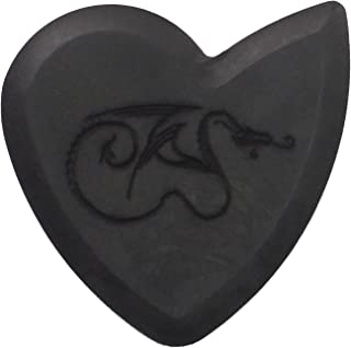 GT Dragon's Heart Guitar Pick - 1400 Hours of Durability, 2.5mm Thickness, Single Pack