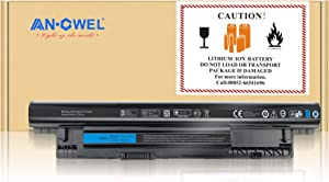 Angwel; 40Wh 4Cell 14.8V Laptop Replacement Battery for Dell Inspiron 3421 5421 3521 5521 3721 15-3521 Fit with Notebook MR90Y V8VNT VR7HM W6XNM X29KD XRDW2 YGMTN