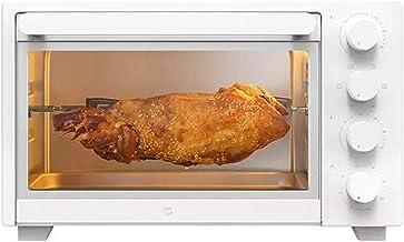 Mini four ménage petite machine à cuisson multifonction 32L de grande capacité Pizza Pizza Four 120 minutes Minuterie 70 °...