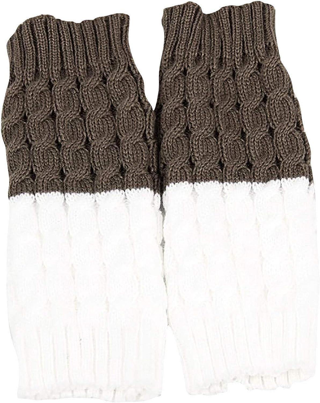 Womens Boot Cuffs Winter Short Knit Socks Leg Warmers Max 67% OFF 100% quality warranty! Cable