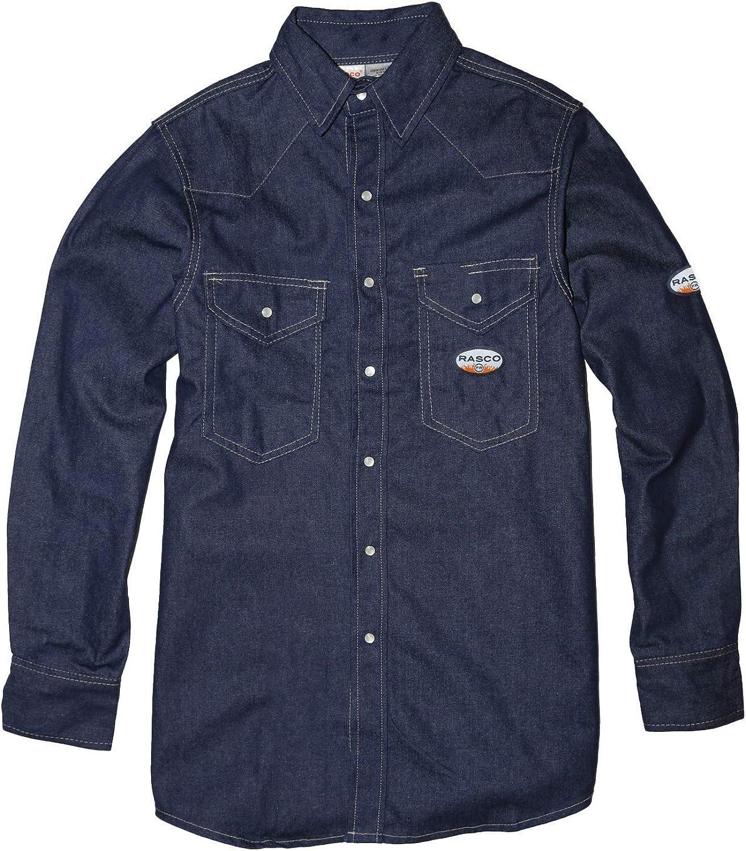 Rasco FR Denim Lightweight Work Shirt
