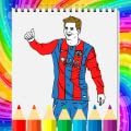 Football Coloring Book - Soccer Coloring Game