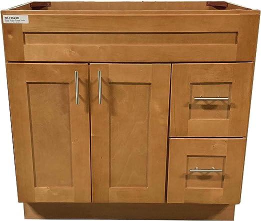 Bathroom Fixtures Kitchen & Bath Fixtures Shaker Panel Door Style ...