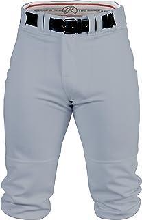 Rawlings Men's Knee-High Pants, Medium, Blue/Grey
