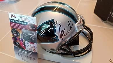 Cam Newton Autographed Signed Memorabilia Panthers Mini Helmet JSA COA