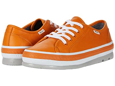 Wolky Linda (Orange Savana Leather) Women