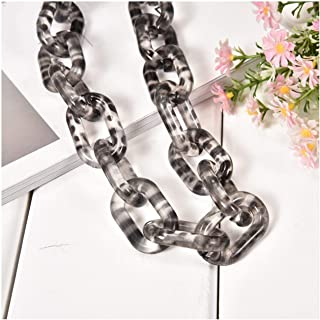 Moange 60cm DIY Resin Bag Strap Acrylic Female Bag Chain for Shoulder Bags Handbag Buckle Handle DIY Belt Bag Accessories