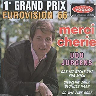 Merci Cherie - 1er Grand Prix Eurovision 1966 - 4 Song EP