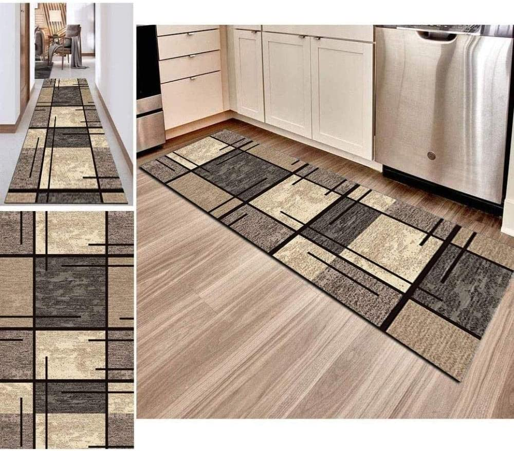 Hciszl Custom Size Rugs Runners Floor All items in the store X Po Max 54% OFF 7FT丨Kitchen 23.5IN