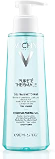 Vichy Pureté Thermale Fresh Cleansing Gel Face Wash, Facial Cleanser & Makeup Remover with Vitamin B5 to Cleanse & Remove Impurities