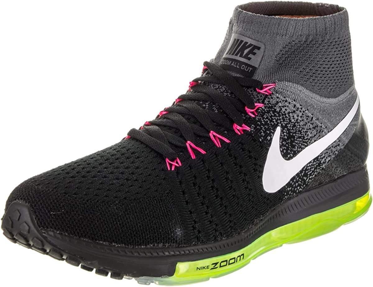 Nike Mens Zoom All Out Flyknit Black