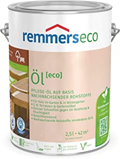 Remmers Gartenholz-Öle eco Holzpflege Möbelpflege 2,5 l, Teak-Öl
