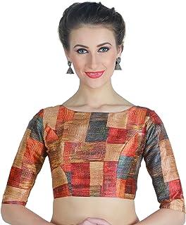 1ea16d816e10de Amazon.in: Multicoloured - Blouses / Ethnic Wear: Clothing & Accessories