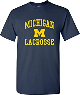 NCAA Arch Logo Lacrosse, Team Color T Shirt, College, University