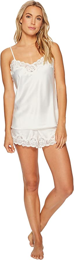 LAUREN Ralph Lauren Satin Cami Top Pajama Set