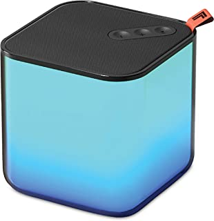 Sharper Image Mini Color Changing Speaker, Sync to Smartphone or Tablet with Bluetooth, Impressive Sound Quality, Stream 4 Hours per Charge, Rechargeable, LED, Speakerphone, Gift