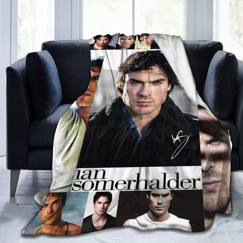 誕生日 お祝い Dserc Ian Somerhalder マーケティング Blanket Ultra W Soft Throw Flannel