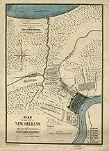 vintage new orleans map