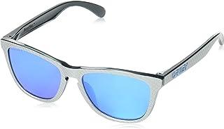 a5f24f2c72 Oakley Casilla de plata Prizm Sapphire Frogskins Gafas de sol