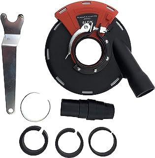 PRODIAMANT Sughuva slipkruka 115 mm och 125 mm vinkelslip för sliparbete med sug