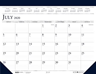 House of Doolittle 2020-2021 Monthly Desk Pad Calendar, Academic, Classic, 22 x 17 Inches, July - August (HOD155-21)