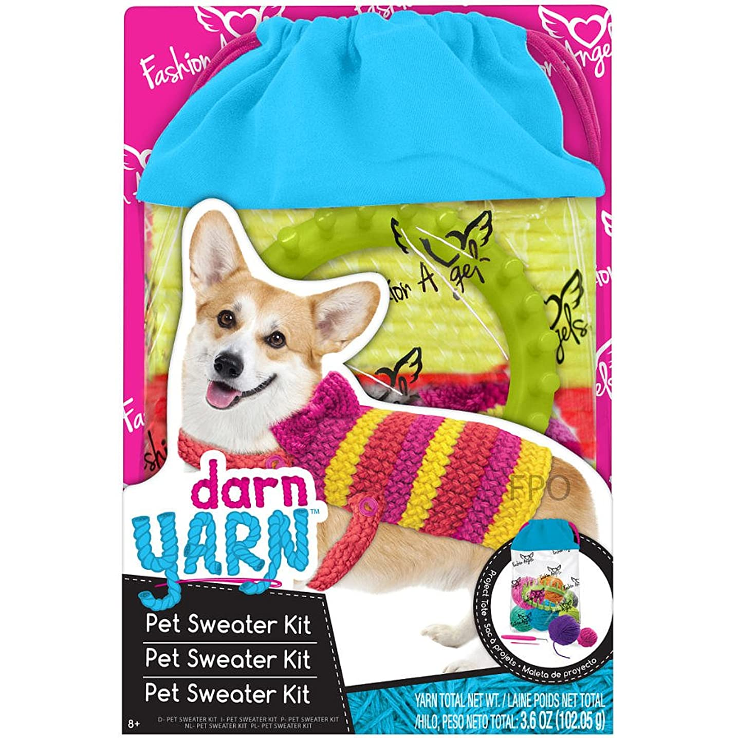 Darn Yarn: Pet Sweater Kit