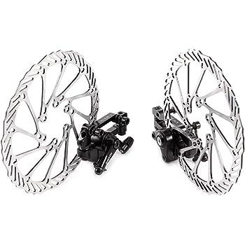 WINOMO Juego de frenos de Disco, rotor kit para bicicleta de ...