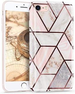 Oihxse Nuevo Flores Case Compatible con iPhone 11 Pro MAX Funda Marmol Silicona Gel Enchapado TPU Anti-Rasguño Protección ...
